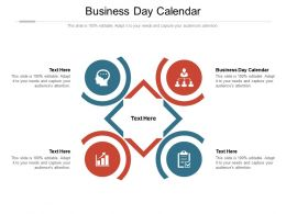 Business Day Calendar Ppt Powerpoint Presentation Styles Designs Download Cpb