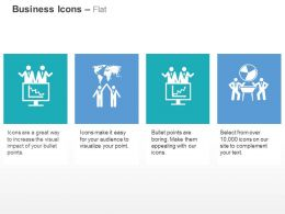 Business Deal Management Global Connection Result Analysis Ppt Icons Graphics