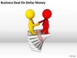 Business Deal On Dollar Money Ppt Graphics Icons Powerpoint