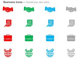 business_deal_report_suitcase_global_navigation_ppt_icons_graphics_Slide02