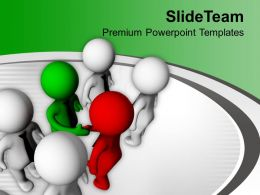 Business Deal Teamwork PowerPoint Templates PPT Themes And Graphics 0213