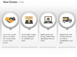 Business Deal Vacant Place Online Housing Truck Ppt Icons Graphics