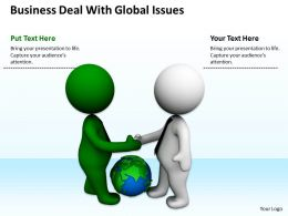 Business Deal With Global Issues Ppt Graphics Icons Powerpoint