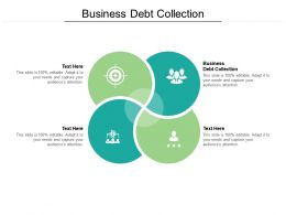 Business Debt Collection Ppt Powerpoint Presentation Ideas File Formats Cpb