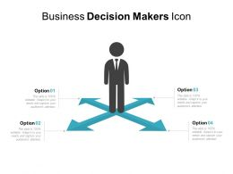 Business Decision Makers Icon