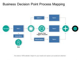 Business Decision Point Process Mapping