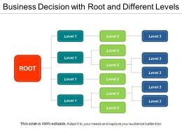 Business Decision With Root And Different Levels