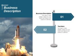 Business Description Ppt Powerpoint Presentation Gallery Information Cpb