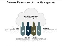 Business Development Account Management Ppt Powerpoint Presentation Show Master Slide Cpb
