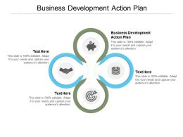 Business Development Action Plan Ppt Powerpoint Presentation Infographic Cpb