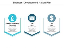 Business Development Action Plan Ppt Powerpoint Presentation Slides Cpb