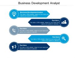 Business Development Analyst Ppt Powerpoint Presentation File Visual Aids Cpb
