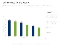 Business Development And Marketing Plan Our Revenue For The Future Ppt Portrait