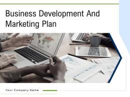 Business Development And Marketing Plan Powerpoint Presentation Slides