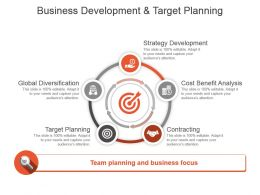 Business Development And Target Planning Good Ppt Example