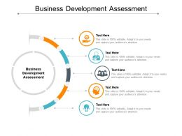 Business Development Assessment Ppt Powerpoint Presentation Portfolio Inspiration Cpb