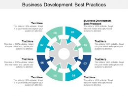 Business Development Best Practices Ppt Powerpoint Presentation Summary Graphics Cpb