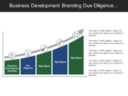 Business Development Branding Due Diligence Planning Progress Problem Solving