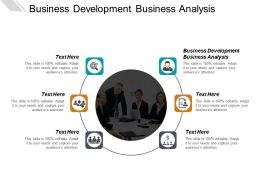 Business Development Business Analysis Ppt Powerpoint Presentation Ideas Structure Cpb