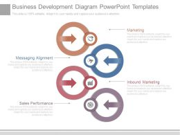 Business Development Diagram Powerpoint Templates
