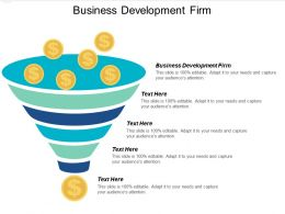 Business Development Firm Ppt Powerpoint Presentation File Examples Cpb