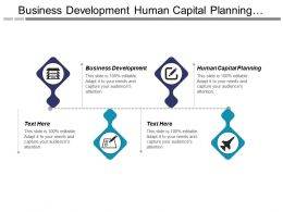 Business Development Human Capital Planning Product Line Development Cpb