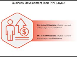 Business Development Icon Ppt Layout