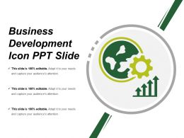 Business Development Icon Ppt Slide
