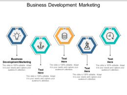 Business Development Marketing Ppt Powerpoint Presentation Slides Picture Cpb