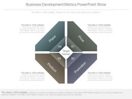 Business Development Metrics Powerpoint Show