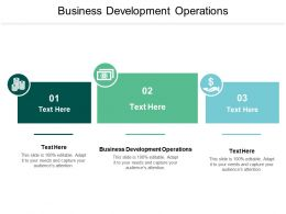 Business Development Operations Ppt Powerpoint Presentation Slides Deck Cpb