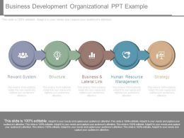 Business Development Organizational Ppt Example
