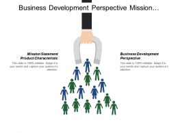Business Development Perspective Mission Statement Product Characteristics Deadlines Budget