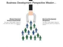 Business Development Perspective Mission Statement Product Characteristics Deadlines Budget
