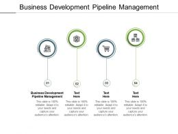 Business Development Pipeline Management Ppt Powerpoint Presentation Model Cpb