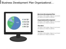 Business Development Plan Organizational Development Strategic Roadmap Template Cpb