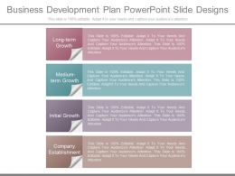 Business Development Plan Powerpoint Slide Designs