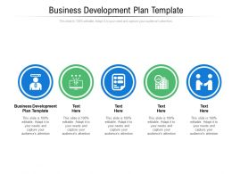 Business Development Plan Template Ppt Powerpoint Presentation Infographics Images Cpb