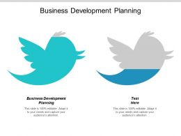 Business Development Planning Ppt Powerpoint Presentation Model Information Cpb