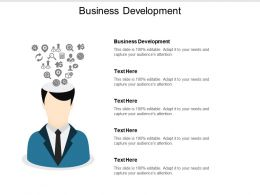 Business Development Ppt Powerpoint Presentation File Icons Cpb