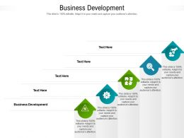 Business Development Ppt Powerpoint Presentation Icon Design Inspiration Cpb
