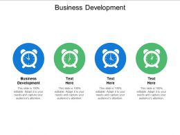 Business Development Ppt Powerpoint Presentation Infographics Graphics Design Cpb