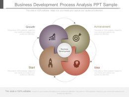 Business Development Process Analysis Ppt Sample