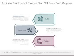 Business Development Process Flow Ppt Powerpoint Graphics