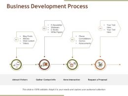 Business Development Process Ppt Background Images