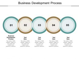 Business Development Process Ppt Powerpoint Presentation Visual Aids Example File Cpb
