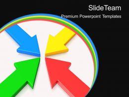 Business Development Process Presentation Templates Arrows Ppt Slides Powerpoint