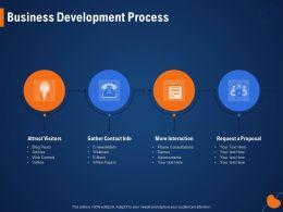 Business Development Process Webinars Ppt Powerpoint Presentation File Visual Aids