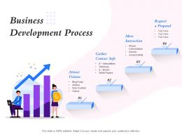 Business Development Process White Papers Ppt Powerpoint Presentation Sample