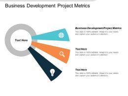 Business Development Project Metrics Ppt Powerpoint Presentation Slides Graphics Design Cpb
